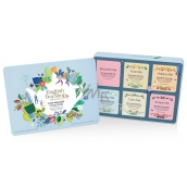 English Tea Shop Bio Wellness For beauty + Cleanse me + Feeling happy + For sleep + Shape me + For soothing, 36 teas, 6 flavors, 54 g, gift set in a tin can