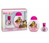 Masha and Bear EdT 30 ml Eau de Toilette + 300 ml Shower Gel for Kids Gift Set