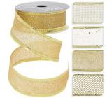 Gold ribbon mix 2700 x 25 mm