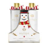 Grace Cole Toasted marshmallow & Snowdrops - Toast marshmallow and snowdrops shower gel 500 ml + body lotion 500 ml, cosmetic set