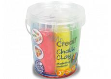 Creall Chalk self-hardening model 6 colors bucket
