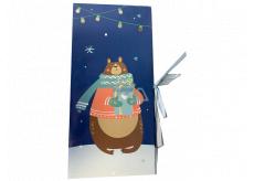 Albi Gift box Christmas animals 11 cm × 23 cm × 0.7 cm