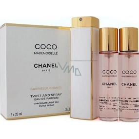 Chanel Coco Mademoiselle EdT 100 ml Women's scent water 3 x 20 ml