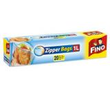 Fino Zipper Bags zipper bags 1 liter, 20 pieces
