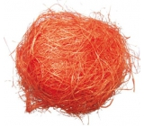 Sisal orange decorative 30 g