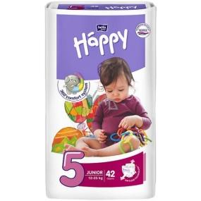 Bella Happy 5 Junior 12-25 kg diaper panties 42 pieces