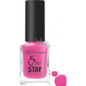 Dermacol nail polish 5 Days Stay 35