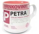 Nekupto Hrnkoviny Mug with the name of Petra
