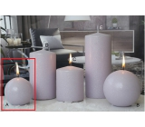 CANDLES 80 Ice pastel Light purple 3150