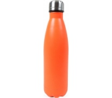 Neon orange thermo bottle
