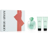 Giorgio Armani Acqua di Gioia EdP 100 ml Women's scent water + 75 ml body lotion + 75 ml shower gel, gift set