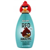 Angry Birds Red 3D 2in1 shampoo and shower gel 300 ml green