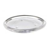 Emocio Candlestick coaster glass clear 108 mm