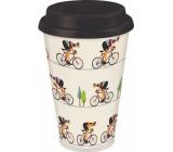 Albi Bamboo travel mug Cyclist 340 ml