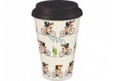 Albi Bamboo travel mug Cyclist 340 ml