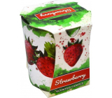 Admit Verona Strawberry - Strawberry scented candle in glass 90 g