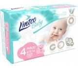 Linteo Baby Premium 4 Maxi 8 - 15 kg disposable diapers 50 pieces
