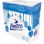 Linteo Classic white paper napkins 1 ply 33 x 33 cm 100 pieces