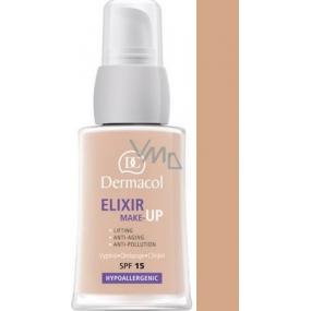 Dermacol Elixir SPF15 make-up 04 Omlazující liftingový 30 ml