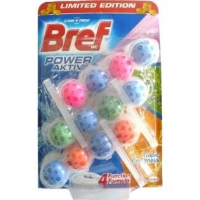 Bref Power Active 4 Formula Tropic Freshness WC block 3 x 50 g