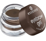 Essence Eyebrow Gel Color & Shape Eyebrow Gel 01 Brown 3 g