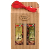 Bohemia Gifts & Cosmetics Snake Shower Gel 250 ml + Hair Shampoo 250 ml, cosmetic set