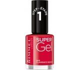 Rimmel London Super Gel nail polish 045 Flamenco Beach 12 ml