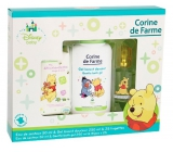 Corine de Farme Winnie the Pooh perfumed water for children 50 ml + shower gel 250 ml + wet wipes 25 pieces, gift set