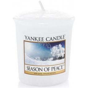 Yankee Candle Season Of Peace - Období míru vonná svíčka votivní 49 g