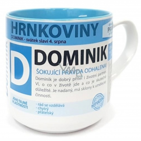 Nekupto Hrnkoviny Mug with the name Dominik 0.4 liters
