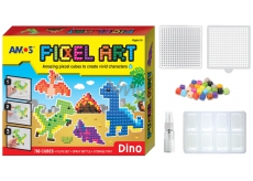 Amos Bead set without ironing PIXCEL Dino 24 x 20 cm