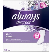 Always Discreet Normal 44 incontinence briefs