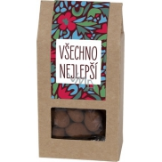 Albi Almonds in chocolate with cinnamon Happy birthday 80 g