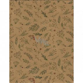 Nekupto Gift paper bag medium 24.5 x 19 x 8 cm Flowers 568 KHM