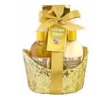 Salsa Collection Peony and Jasmine shower gel 170 ml + body lotion 170 ml + bath salt 100 g, 3-piece gift set