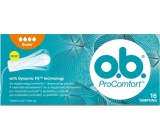 ob Pro Comfort Super with Dynamic Fit tampons 16 pieces