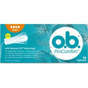 ob Comfort Super with Dynamic Fit swabs 16 pieces