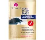 Dermacol Gold Elixir Rejuvenating mask with caviar 2 x 8 g