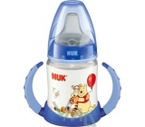 Nuk Disney First Choice plastic bottle for learning from 6 months 150 ml of different colors