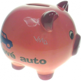 Albi Ceramic box Pig New car 10 cm