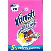 Vanish Color Protect wipes against staining of linen 20 pieces
