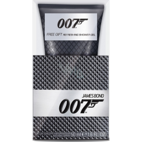 James Bond 007 toaletní voda 50 ml + sprchový gel 150 ml, dárková sada
