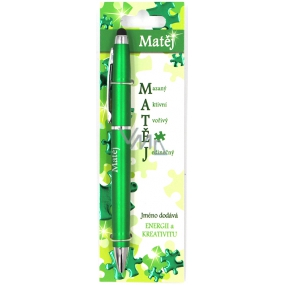 Nekupto Stylus Ballpoint pen named Matěj