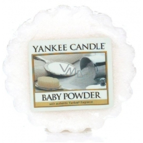 Yankee Candle Baby Powder - Dětský pudr vonný vosk do aromalampy 22 g