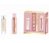La Rive Sweet Woman perfumed water for women 90 ml + deodorant spray 150 ml, gift set
