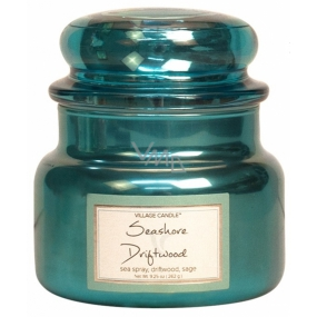 Village Candle Seashore Driftwood scented candle in glass 2 wicks 262 g