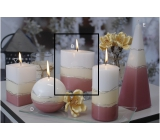 Lima Verona candle old-pink ellipse 110 x 125 mm 1 piece