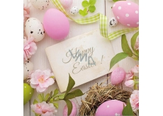 Aha Easter paper napkins 3 ply 33 x 33 cm 20 pieces Happy Easter!