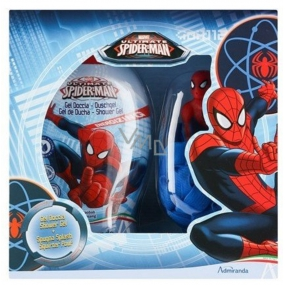 Marvel Spiderman shower gel 250 ml + Sponge gift set for children