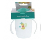 Disney Baby Winnie the Pooh Mug with two handles green for children from 6 months